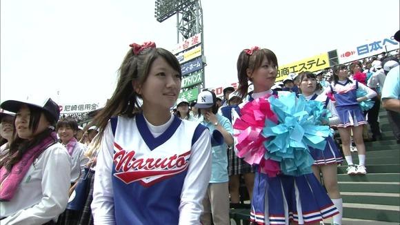 高校野球を応援する女子校生チアガールが異常に可愛いキャプエロ画像 2528