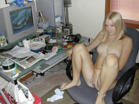 おっぱいがおっきな素人の白人美女のエロ画像 2549