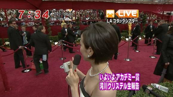 美人OLの女子アナがテレビでエッチな姿を披露するキャプエロ画像 2618