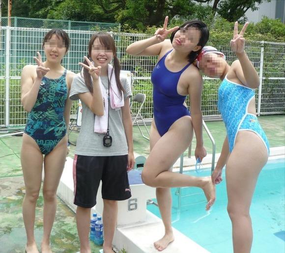 水泳部や陸上部の引き締まった体がエッチな素人娘たちのエロ画像 2625