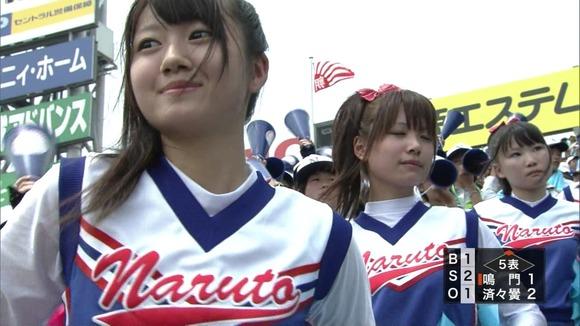 高校野球を応援する女子校生チアガールが異常に可愛いキャプエロ画像 2628