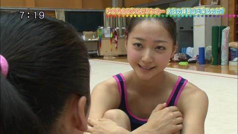 新体操の畠山愛里の着衣おっぱいがセクシーなキャプエロ画像 2638