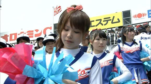 高校野球を応援する女子校生チアガールが異常に可愛いキャプエロ画像 2728
