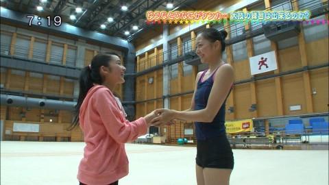 新体操の畠山愛里の着衣おっぱいがセクシーなキャプエロ画像 2736
