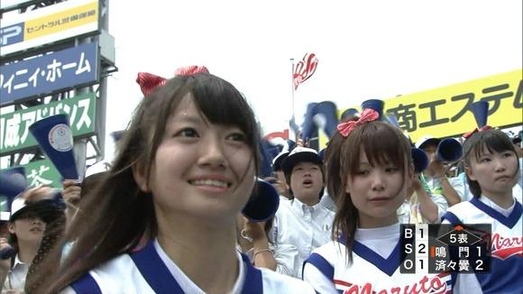 高校野球を応援する女子校生チアガールが異常に可愛いキャプエロ画像 2827