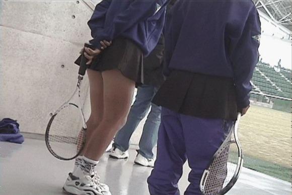 テニス部の女子が試合を頑張ってるお尻のエロ画像 2910