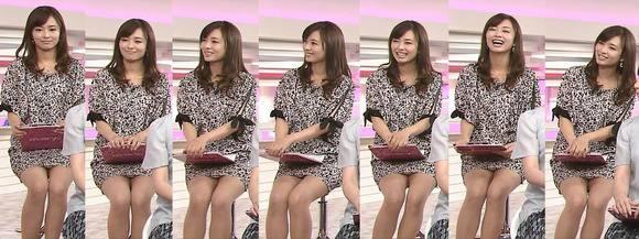 美人OLの女子アナがテレビでエッチな姿を披露するキャプエロ画像 2917