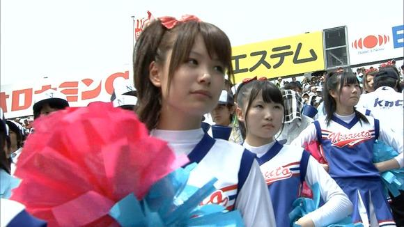 高校野球を応援する女子校生チアガールが異常に可愛いキャプエロ画像 2927