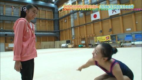 新体操の畠山愛里の着衣おっぱいがセクシーなキャプエロ画像 2934