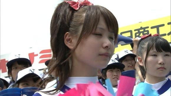 高校野球を応援する女子校生チアガールが異常に可愛いキャプエロ画像 3027