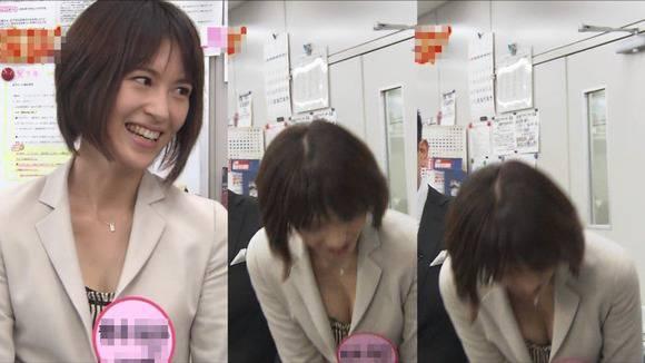 美人OLの女子アナがテレビでエッチな姿を披露するキャプエロ画像 3317