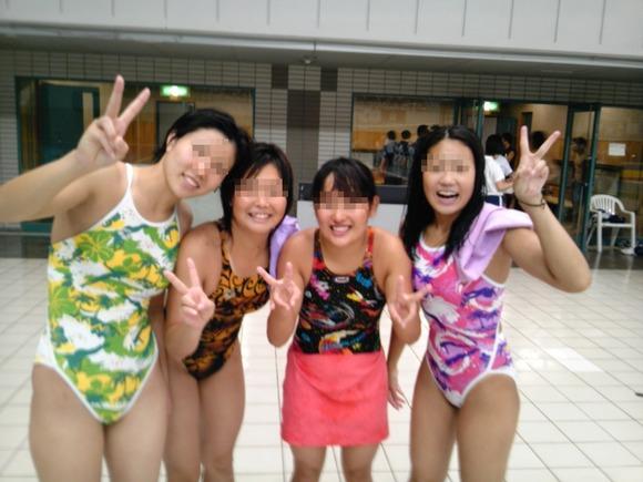 水泳部や陸上部の引き締まった体がエッチな素人娘たちのエロ画像 528