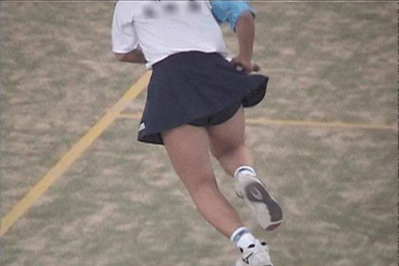テニス部の女子が試合を頑張ってるお尻のエロ画像 712