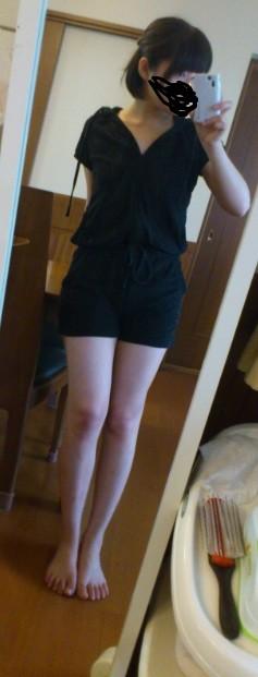 女子校生の制服コスプレしておっぱいやおまんこまで自画撮りしてるエロ画像 2411