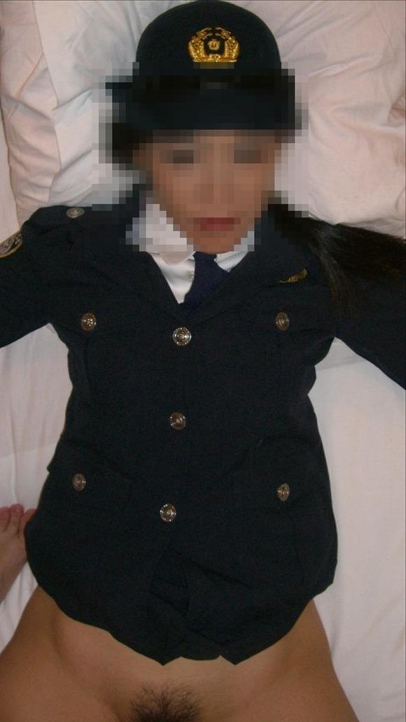 セフレに婦警のコスプレさせてエッチした時の投稿エロ画像 3312