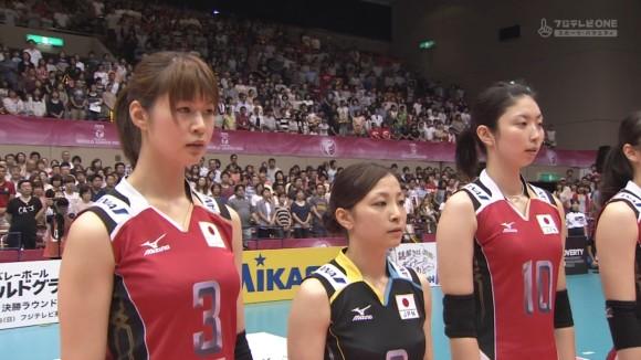 女子バレー会のアイドル木村沙織のユニフォーム着衣おっぱいのエロ画像 458