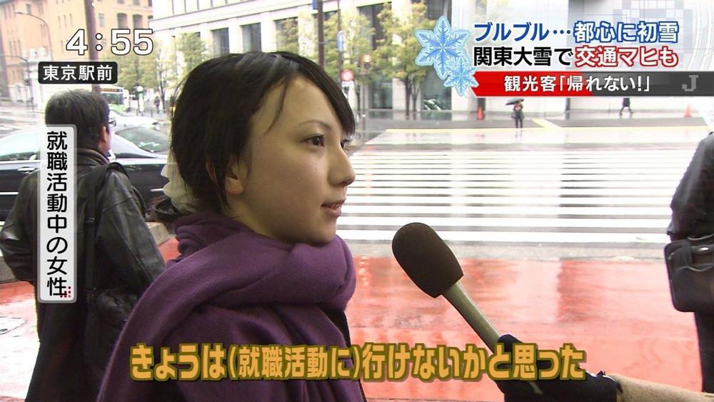 テレビに映った素人美少女達のキャプエロ画像 558