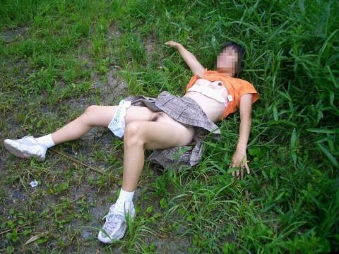 ガチレイプされた女性達のヤバいエロ画像 885