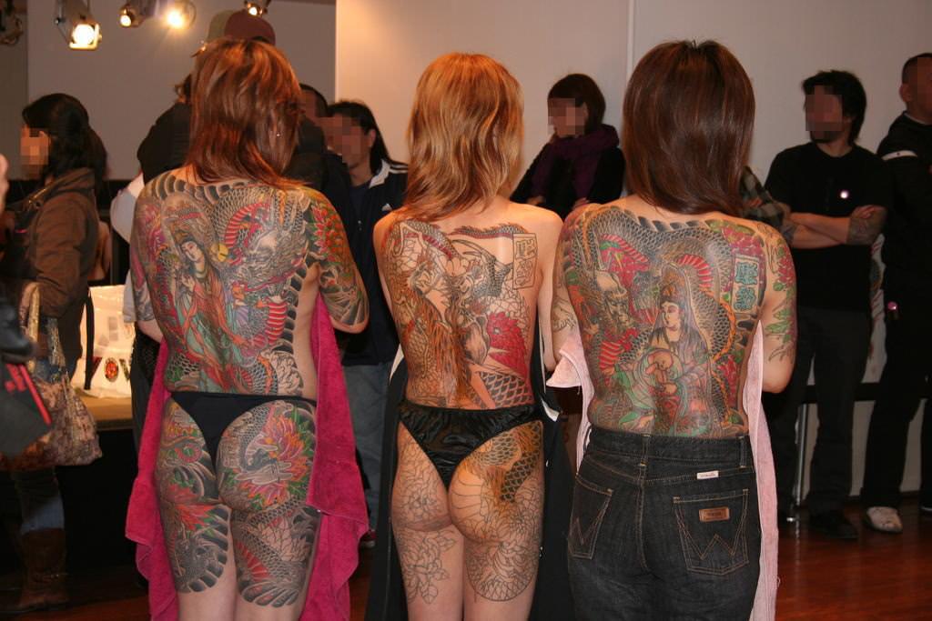 刺青やタトゥーを入れてる女達のヤバいエロ画像 1897