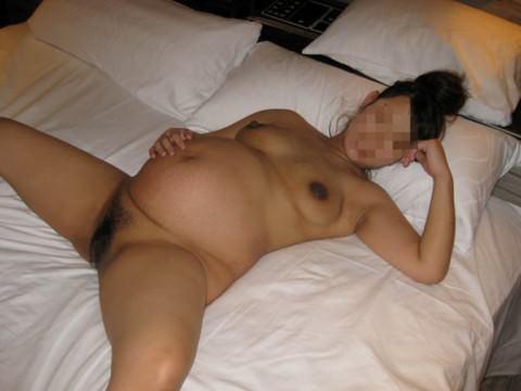 お腹がぷっくり大っきくなってる妊婦ママさん達のエロ画像 2215