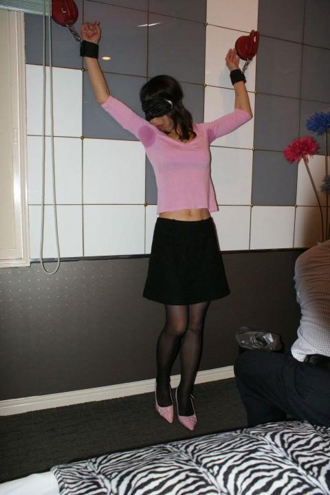 拘束プレイを楽しむドM女のSMエロ画像 2931