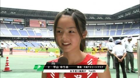 カメラマンの好みが分かるテレビに写った素人美少女のキャプエロ画像 363