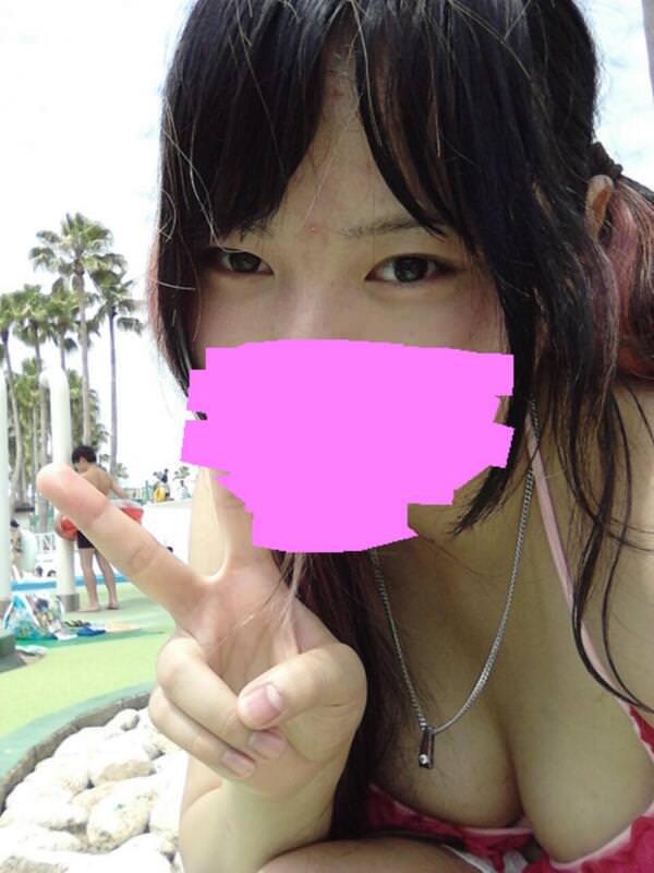 めっちゃ可愛い子厳選した水着娘の自画撮りエロ画像 8111