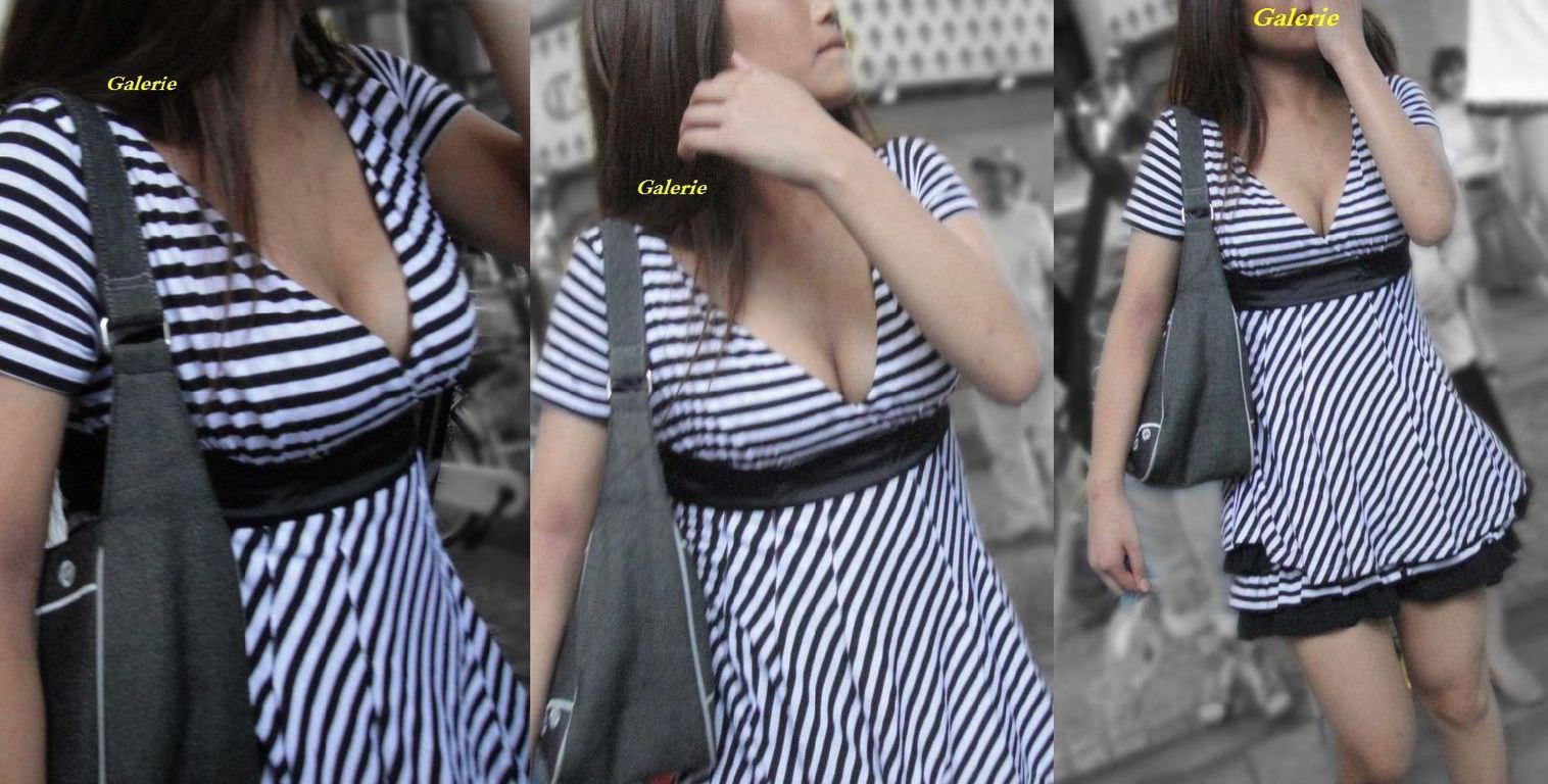 激写された素人美女たちの街撮りおっぱいのエロ画像 11145