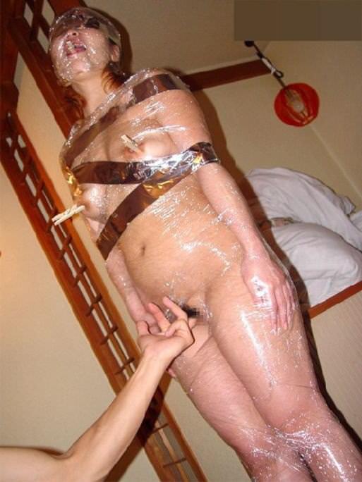 ハードな緊縛調教で体を痛めつけるヤバいSMエロ画像 2356