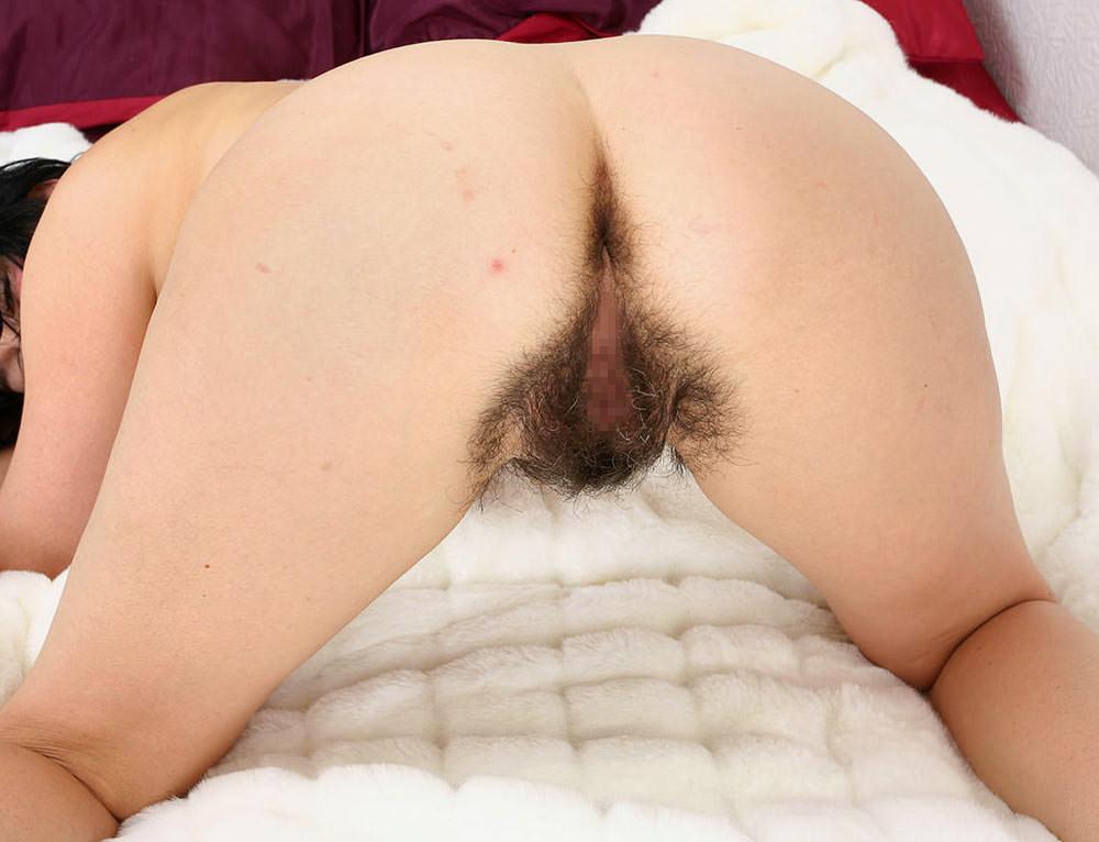 まんこからアナルに掛けて剛毛な彼女の汚いマン毛エロ画像 2540