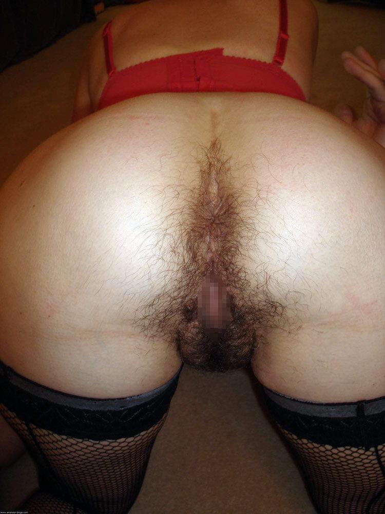 まんこからアナルに掛けて剛毛な彼女の汚いマン毛エロ画像 2633
