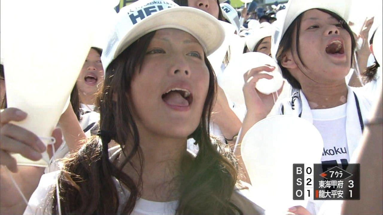 テレビに写った素人娘がめっちゃ可愛かった美少女のキャプエロ画像 3131