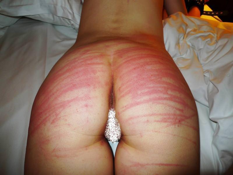 ドMスケベ女のお尻をペンペン叩いて真っ赤になったSMエロ画像 4126