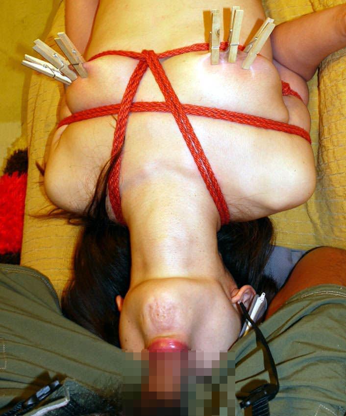 ハードな緊縛調教で体を痛めつけるヤバいSMエロ画像 475