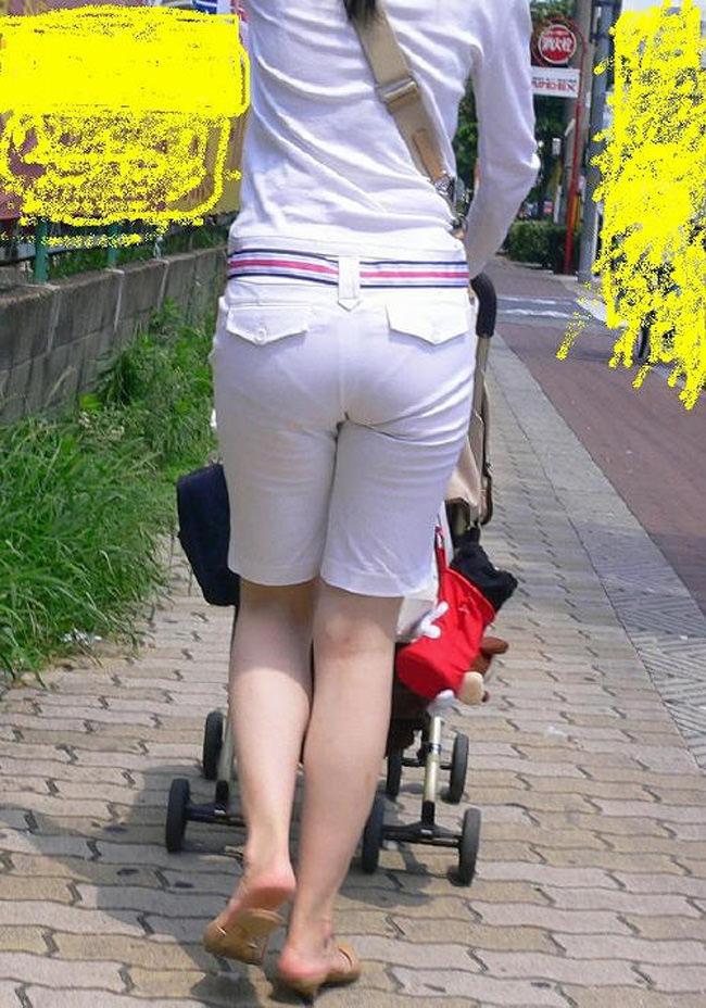 夏も終わるし街で見かけたパンツ透け透け娘の街撮り放出wwww 0468