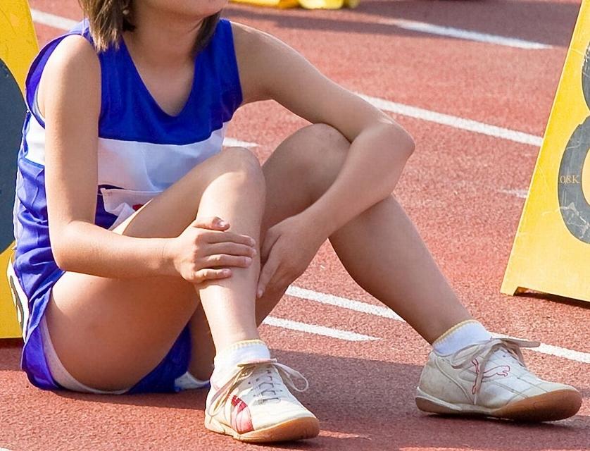 女子陸上選手のむっちりお尻がオナニーに最適なスポーツ系エロ画像 1430