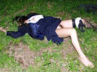 レイプされて乱れた姿になってる女体のエロ画像