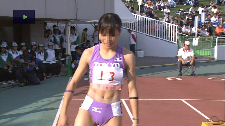 女子陸上選手のむっちりお尻がオナニーに最適なスポーツ系エロ画像 2316