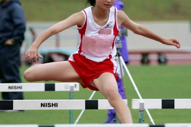 女子陸上選手のむっちりお尻がオナニーに最適なスポーツ系エロ画像 2510