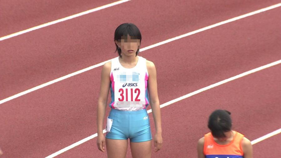 女子陸上選手のむっちりお尻がオナニーに最適なスポーツ系エロ画像 283