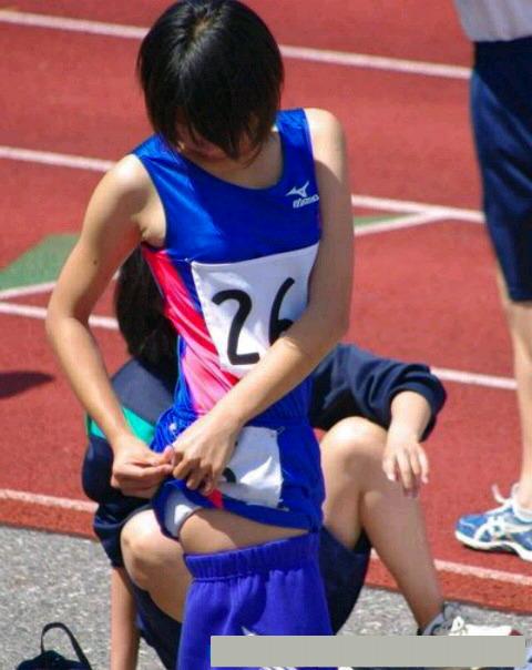 女子陸上選手のむっちりお尻がオナニーに最適なスポーツ系エロ画像 730