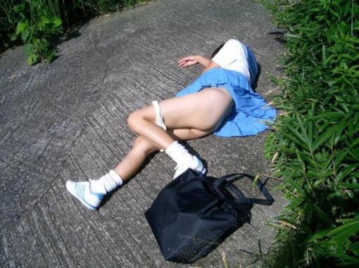 おまんこをレイプされた事後に放置された女達のエロ画像 2530