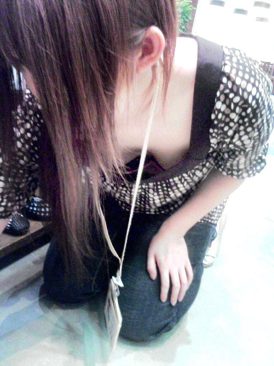 【素人盗撮】飽きる事なくずっと見ていられる胸チラ画像! 0602