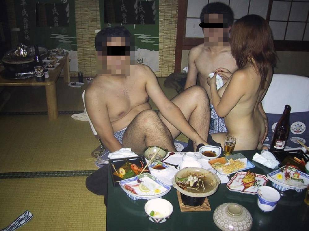 会社のピンクな宴会に参加して来たよwww酒池肉林のお遊び後は自室でセックスwww 0605 1
