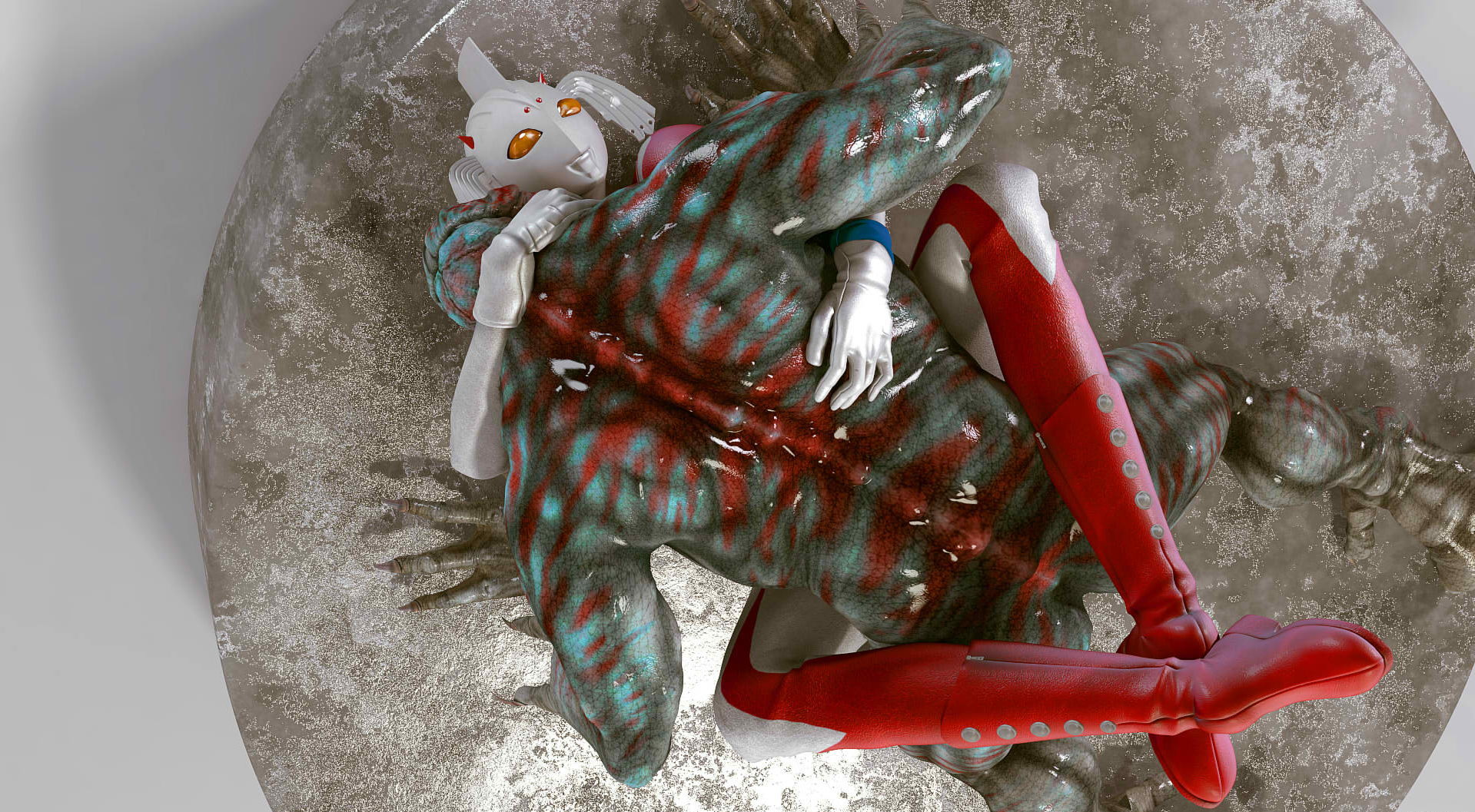 性欲が半端じゃないウルトラのママがセックスに溺れる人妻エロ画像 104