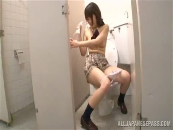 警備員にトイレで中出しレイプされるJKが可愛すぎてヤバイと話題にwww 2822