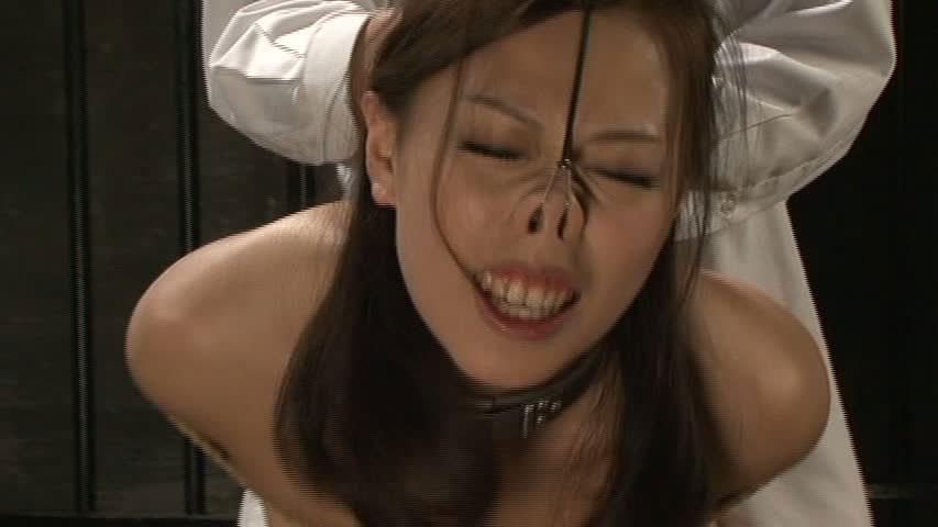 美女が鼻フックされてキモい顔になってる事に性的興奮を覚えるヤバいソフトSMエロ画像 1027