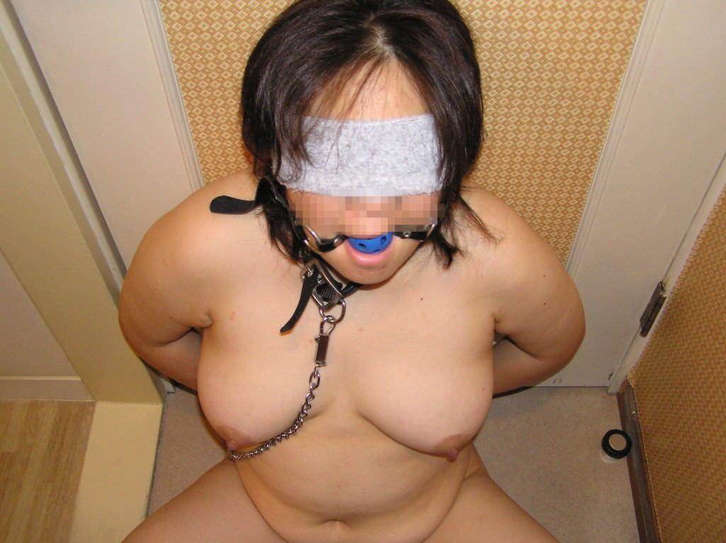 彼女とのHにも飽きてきたのでとりあえず縛ってみたwwwww(緊縛素人エロ画像) 0457
