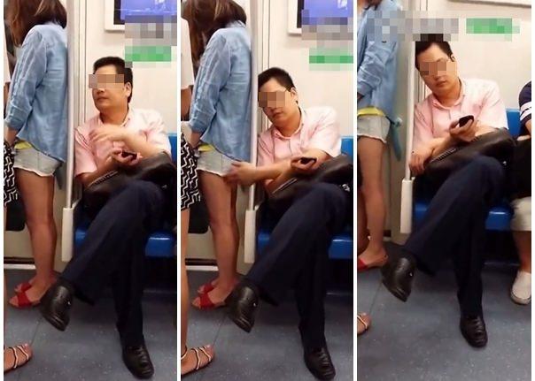 主に電車やバスの中で痴漢の決定的瞬間を激写したヤバいエロ画像 1337