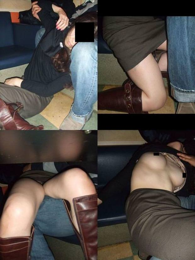 ガチ素人娘を泥酔させて裸にしてエロ写メ撮影したエロ画像 7103
